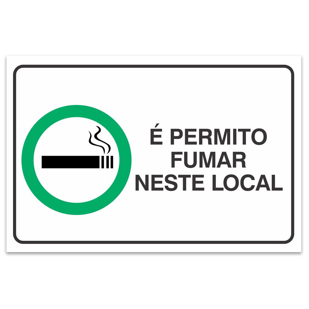 e permitido fumar