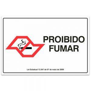 proibido fumar sao paulo