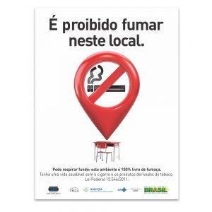 é proibido fumar neste local Escola